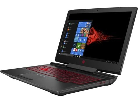 Ноутбук HP Omen 17-an039ur, 17.3, Intel Core i5 7300HQ 2.5ГГц, 8Гб, 1000Гб, 128Гб SSD, nVidia GeForce GTX 1060 - 6144 Мб, DVD-RW, Windows 10, черный [2fp34ea] ноутбук msi gs43vr 7re phantom pro 094ru 14 intel core i5 7300hq 2 5ггц 16гб 1000гб 128гб ssd nvidia geforce gtx 1060 6144 мб windows 10 черный [9s7 14a332 094]