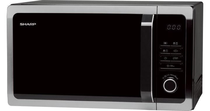 Микроволновая печь SHARP R-3852RK, черный