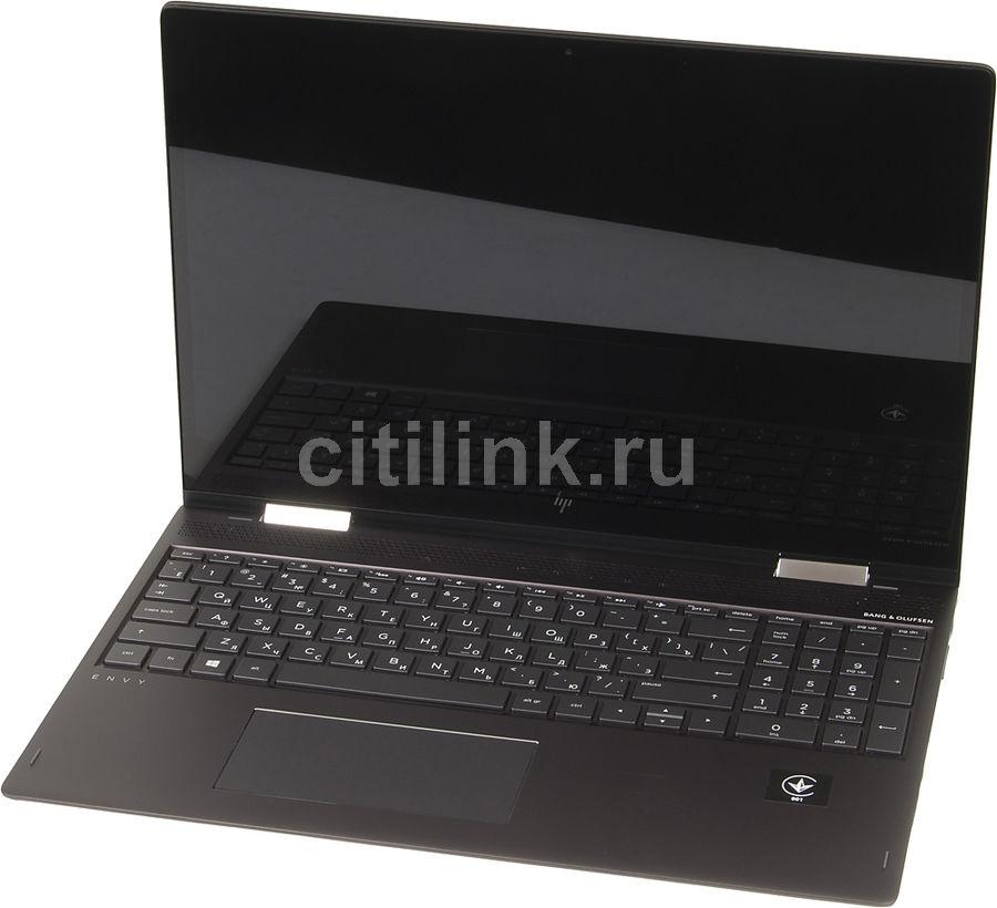 "Ноутбук-трансформер HP Envy x360 15-bq006ur, 15.6"", AMD  A12  9720P 2.7ГГц, 8Гб, 1000Гб, AMD Radeon  R7, Windows 10, 1ZA54EA,  серебристый"