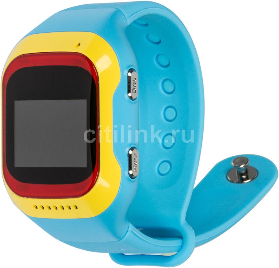"Смарт-часы GINZZU GZ-501,  0.98"",  красный/желтый / синий [00-00000843]"