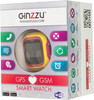 "Смарт-часы GINZZU GZ-501,  0.98"",  красный/желтый / розовый [00-00000891] вид 10"