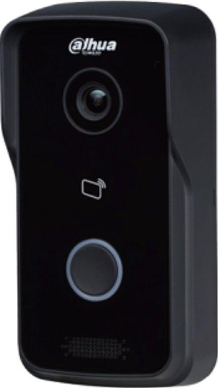 Видеопанель DAHUA DH-VTO2111D-WP,  цветная,  накладная,  черный