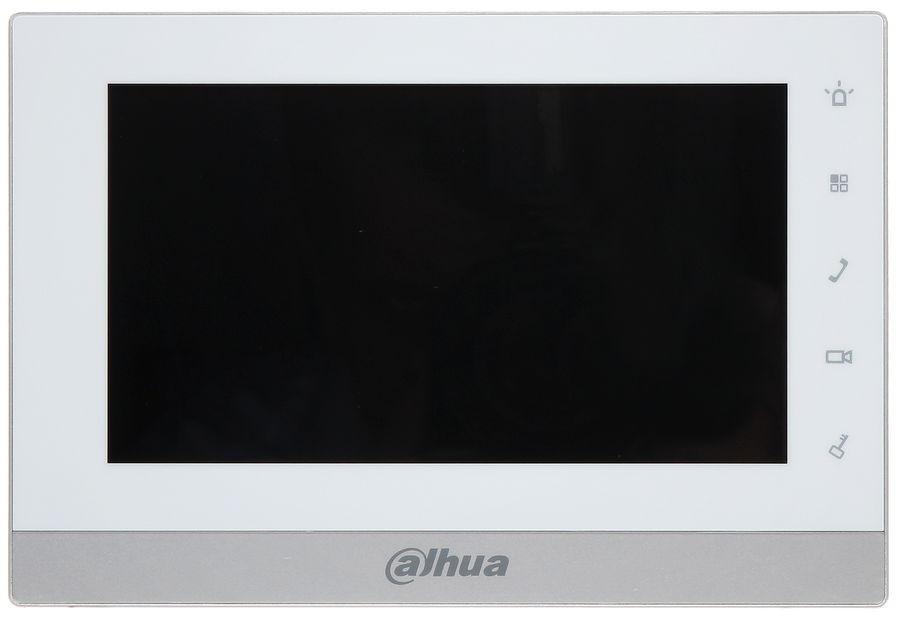 Видеодомофон DAHUA DHI-VTH1550CH,  белый