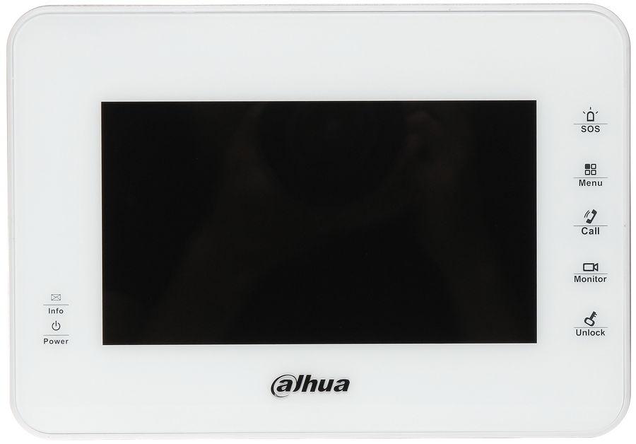 Видеодомофон DAHUA DH-VTH1560BW,  белый
