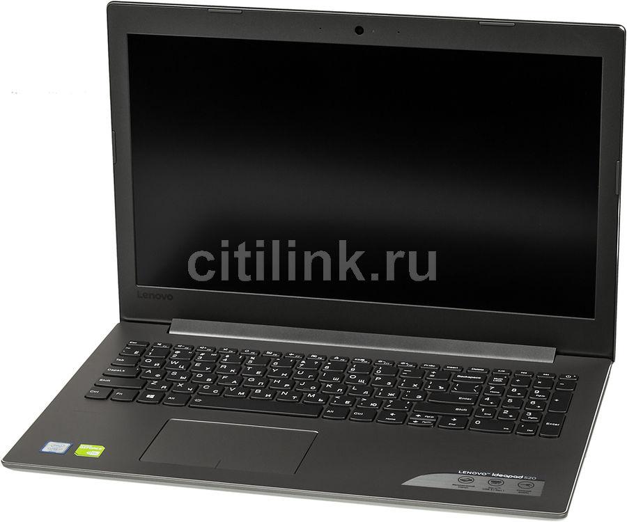 "Ноутбук LENOVO IdeaPad 520-15IKB, 15.6"", Intel  Core i7  7500U 2.7ГГц, 12Гб, 1000Гб, 128Гб SSD,  nVidia GeForce  940MX - 2048 Мб, Windows 10, 80YL001RRK,  серый"