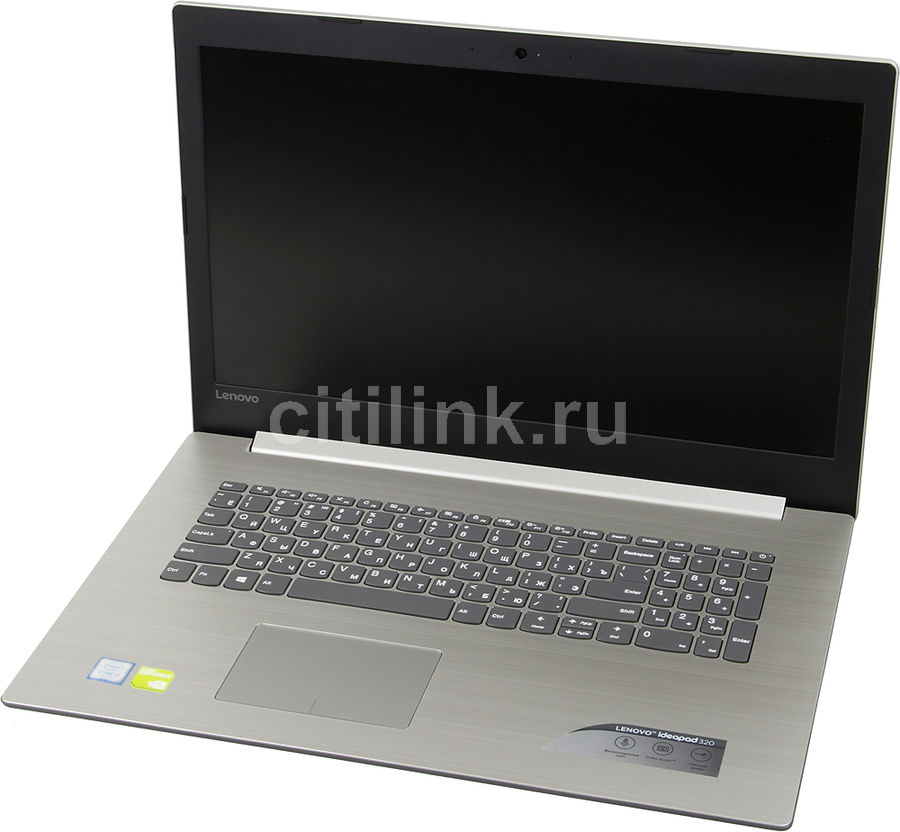 Ноутбук LENOVO IdeaPad 320-17IKB, 17.3, Intel Core i5 7200U, 2.5ГГц, 8Гб, 1000Гб, nVidia GeForce 920MX - 2048 Мб, DVD-RW, Windows 10, серый [80xm000wrk]Ноутбуки<br>экран: 17.3;  разрешение экрана: 1600х900; процессор: Intel Core i5 7200U; частота: 2.5 ГГц (3.1 ГГц, в режиме Turbo); память: 8192 Мб, DDR4; HDD: 1000 Гб, 5400 об/мин; nVidia GeForce 920MX - 2048 Мб; DVD-RW; WiFi;  Bluetooth; HDMI; WEB-камера; Windows 10<br><br>Линейка: IdeaPad