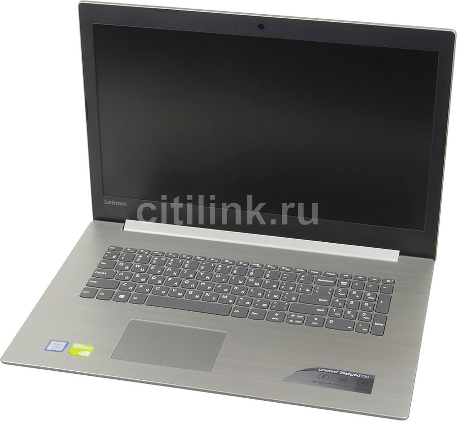 Ноутбук LENOVO IdeaPad 320-17IKB, 17.3, Intel Core i5 7200U 2.5ГГц, 8Гб, 1000Гб, nVidia GeForce 940MX - 4096 Мб, DVD-RW, Windows 10, серый [80xm0012rk] ноутбук lenovo ideapad 320 15isk 15 6 1366x768 intel core i3 6006u 256 gb 4gb nvidia geforce gt 920mx 2048 мб черный windows 10 home