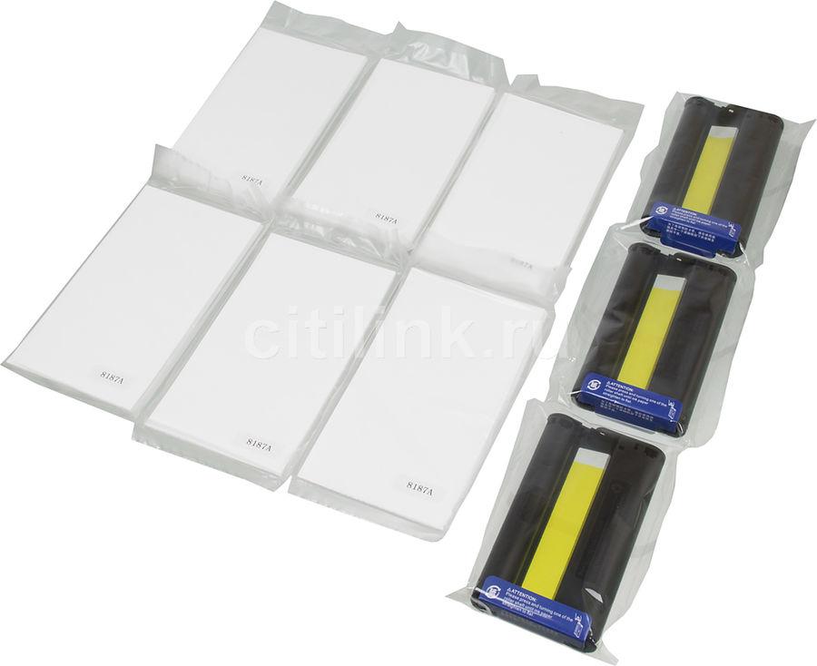 Набор для печати Cactus CS-KP108 10x15/108л./белый для сублимационных принтеров