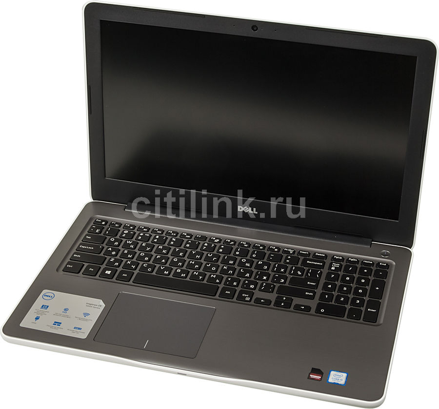 Ноутбук DELL Inspiron 5567, 15.6, Intel Core i5 7200U 2.5ГГц, 8Гб, 256Гб SSD, AMD Radeon R7 M445 - 4096 Мб, DVD-RW, Windows 10, белый [5567-1998] адаптер dell intel ethernet i350 1gb 4p 540 bbhf