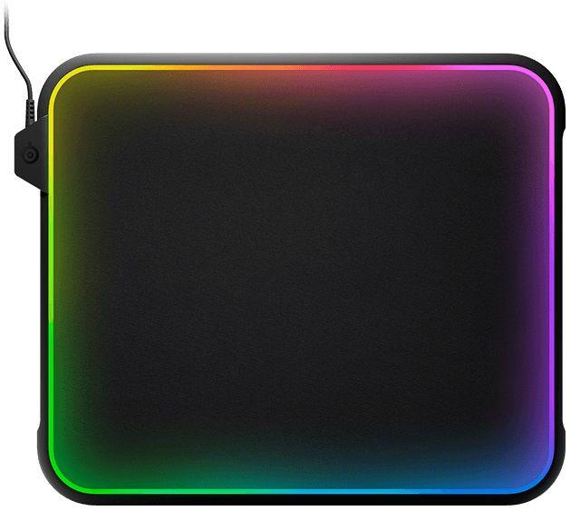 Коврик для мыши STEELSERIES QcK Prism,  черный [63391]