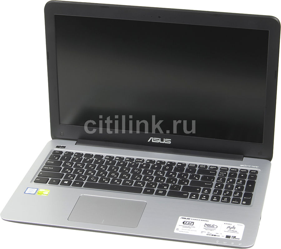 Ноутбук ASUS VivoBook K556UQ-DM1423T, 15.6, Intel Core i5 7200U 2.5ГГц, 8Гб, 1000Гб, nVidia GeForce 940MX - 2048 Мб, Windows 10, 90NB0BH2-M19330, темно-синий