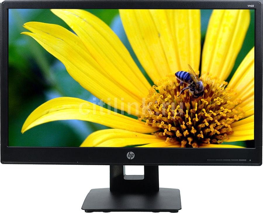 """Монитор ЖК HP VH22 21.5"""", черный [x0n05aa]"""