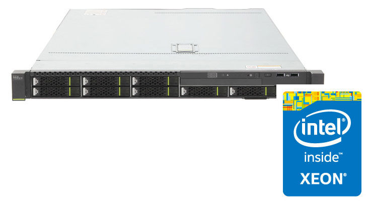 Сервер Huawei RH1288 V3 2xE5-2650v4 2x16Gb x8 SR430C 1G 4P 2x750W (02311PHQ)Серверы<br>Hot Swap HDD, Hot Swap AC<br>