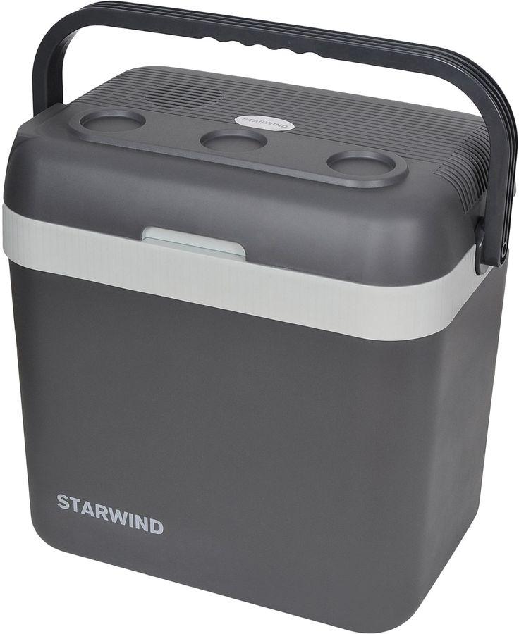 Автохолодильник STARWIND CF-132,  32л,  серый и голубой