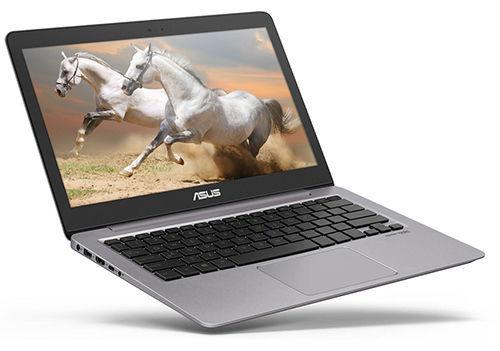 """Ноутбук ASUS Zenbook UX310UQ-FC134T, 13.3"""", Intel  Core i5  6200U 2.3ГГц, 4Гб, 500Гб, 128Гб SSD,  nVidia GeForce  940MX - 2048 Мб, Windows 10, 90NB0CL1-M03260,  серый"""