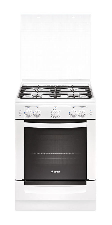 Газовая плита GEFEST ПГ 6100-02 0011,  газовая духовка,  белый