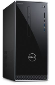 Компьютер DELL Inspiron 3668, Intel Core i7 7700, DDR4 12Гб, 1000Гб, NVIDIA GeForce GTX 1050 - 2048 Мб, DVD-RW, Windows 10 Home, черный [3668-1806] ноутбук hasee 14 intel i3 3110m dvd rw nvidia geforce gt 635m intel gma hd 4000 2 g k460n