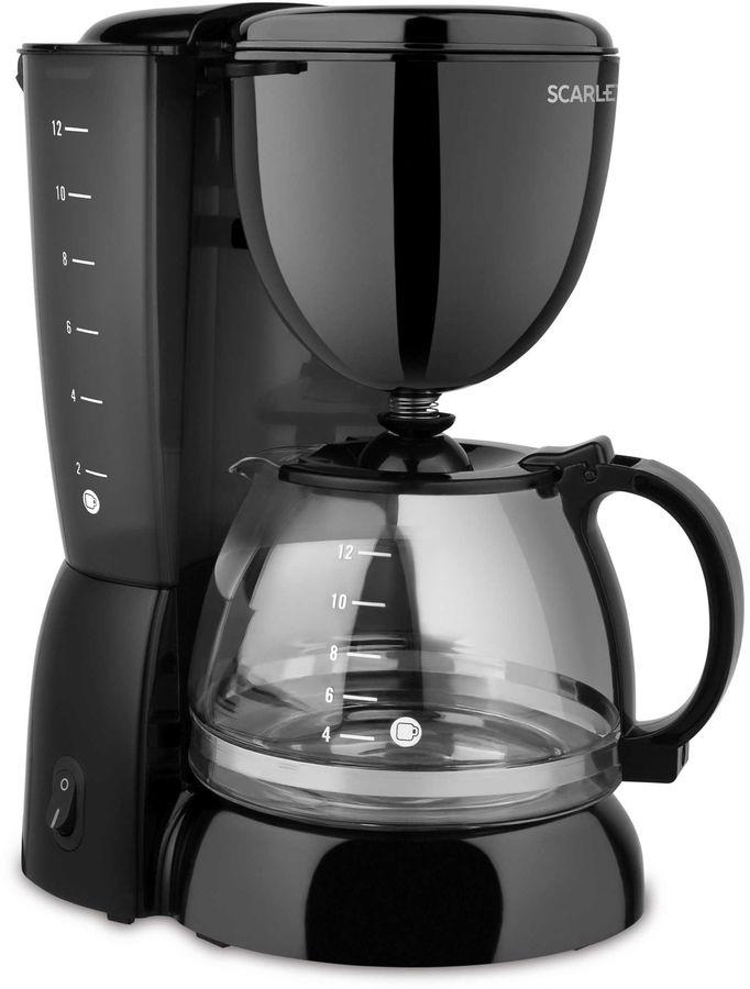Кофеварка SCARLETT SC-CM33007,  капельная,  черный  [sc - cm33007]