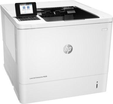 Принтер лазерный HP LaserJet Enterprise 600 M608n лазерный, цвет:  белый [k0q17a]
