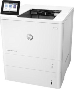 Принтер HP LaserJet Enterprise M609x лазерный, цвет:  белый [k0q22a]