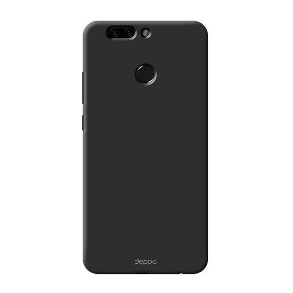 Чехол (клип-кейс) DEPPA Air Case, для Huawei Honor 8 Pro, черный [83315]