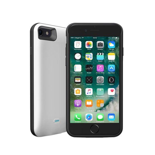 Внешний мод батарея Deppa NRG Case 33520 для Apple iPhone 7/8 2600mAh Lightning белый