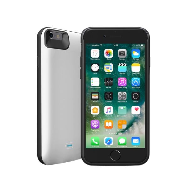 Внешний мод батарея Deppa NRG Case 33524 для Apple iPhone 6/6S 2600mAh Lightning белый