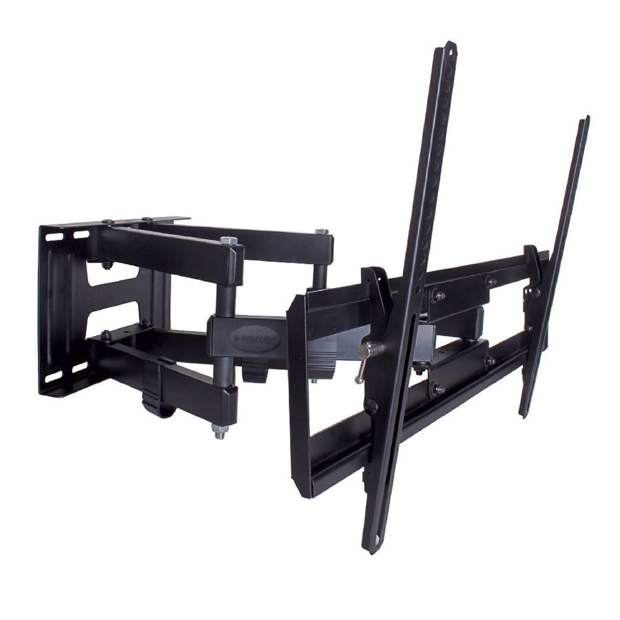 "Кронштейн для телевизора Kromax PIXIS-XL черный 40""-90"" макс.50кг настенный поворот и наклон"