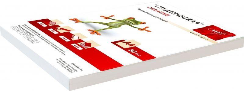 Бумага Creative БС-100 A4/80г/м2/100л./белый CIE146% матовое общего назначения(офисная)