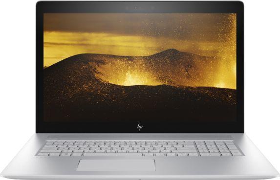 "Ноутбук HP Envy 17-ae007ur, 17.3"", Intel  Core i7  7500U 2.7ГГц, 16Гб, 1000Гб, 256Гб SSD,  nVidia GeForce  940MX - 4096 Мб, DVD-RW, Windows 10, 1ZB10EA,  серебристый"
