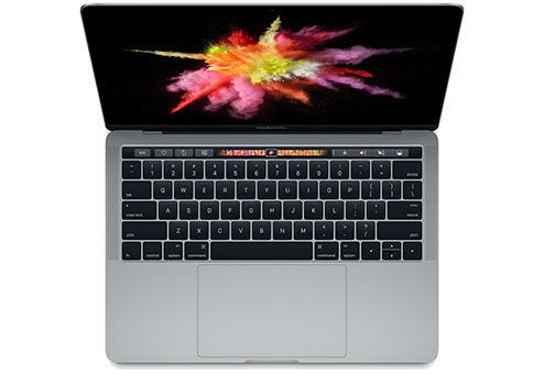 Ноутбук APPLE MacBook Pro MNQF2RU/A, 13.3, Intel Core i5 6267U, 2.9ГГц, 8Гб, 512Гб SSD, Intel Iris graphics 550, Mac OS Sierra, серый мобильный телефон philips xenium e168 черный 2 4