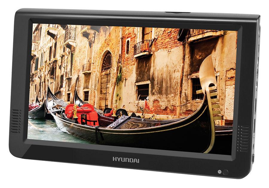 """Портативный плеер HYUNDAI H-LCD1000, 10"""", черный"""