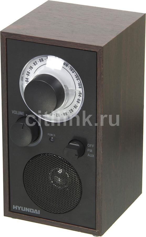 Радиоприемник HYUNDAI H-SRS140,  венге
