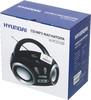 Аудиомагнитола HYUNDAI H-PCD100,  черный и серебристый вид 11