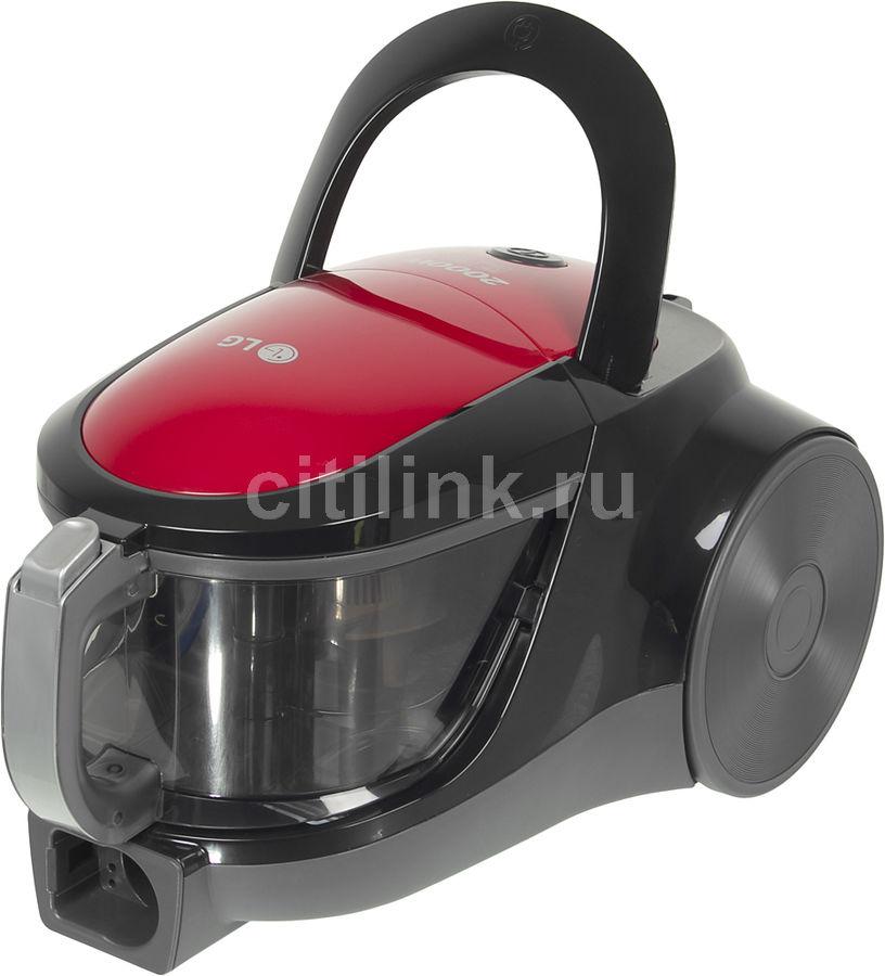 Пылесос LG VK76A00NDR, 2000Вт, красный