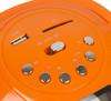 Аудиомагнитола HYUNDAI H-PAS120,  оранжевый вид 7