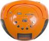 Аудиомагнитола HYUNDAI H-PAS120,  оранжевый вид 3