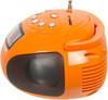 Аудиомагнитола HYUNDAI H-PAS120,  оранжевый вид 6