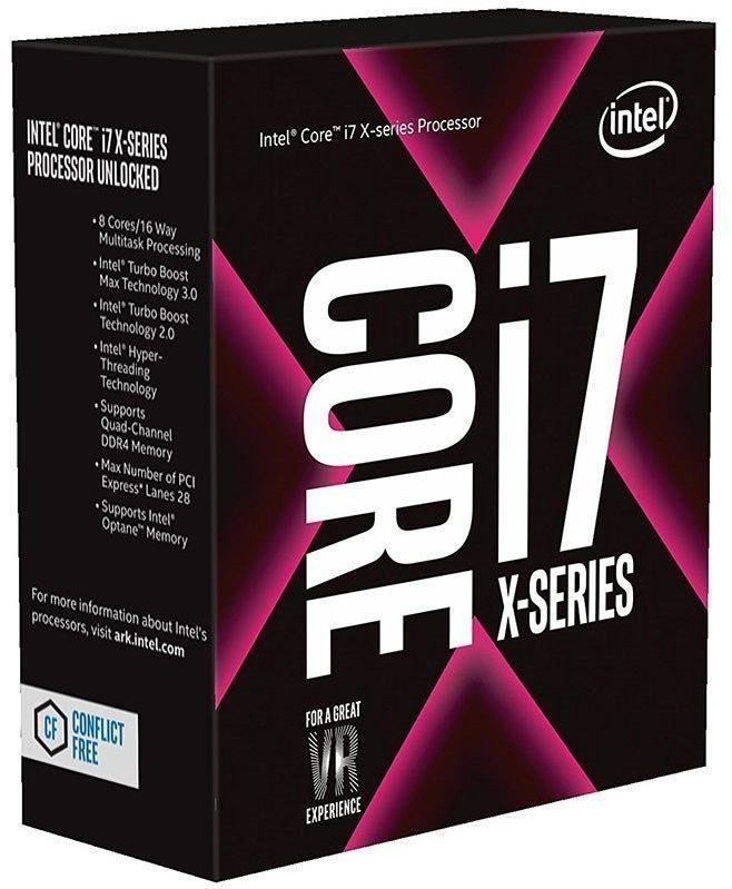 Процессор INTEL Core i7 7820X, LGA 2066 ** BOX [bx80673i77820x s r3l5]