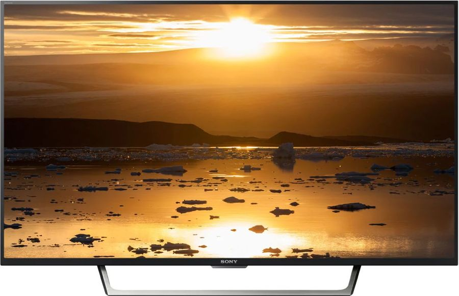 LED телевизор SONY BRAVIA KDL43WE755BR R, 42.5, FULL HD (1080p), черный/ серебристый led телевизор sony kdl 32rd433