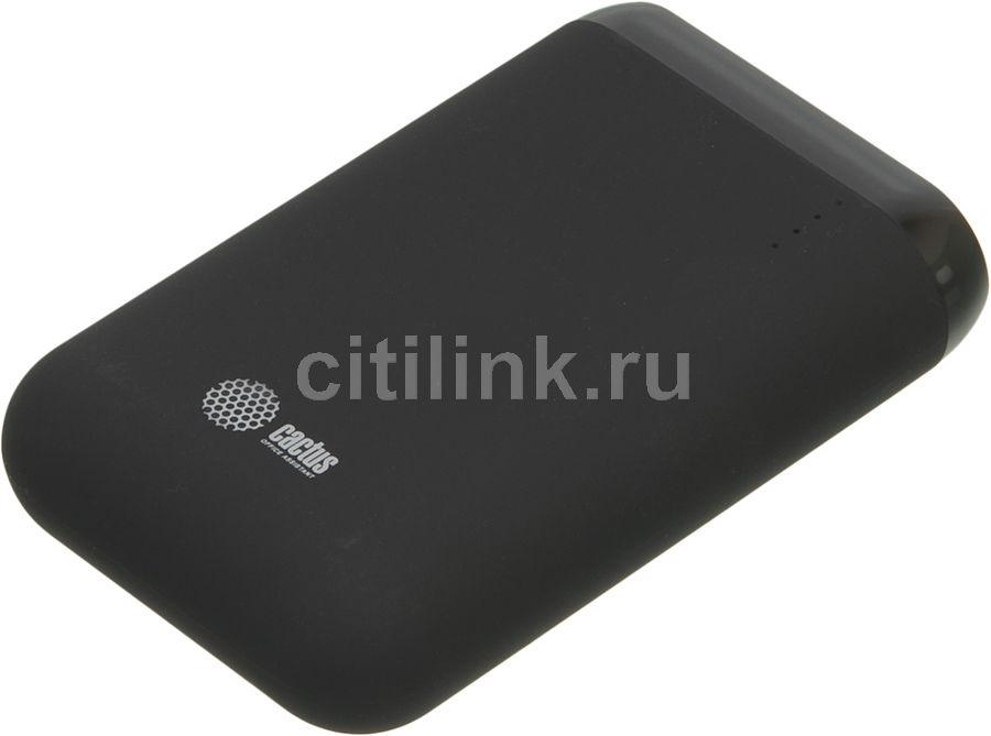 Внешний аккумулятор (Power Bank) CACTUS CS-PBHTST-7800,  7800мAч,  черный
