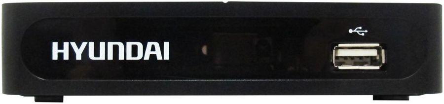 Ресивер DVB-T2 HYUNDAI H-DVB180,  черный