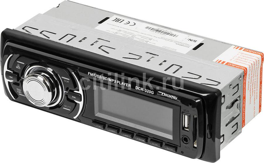 Автомагнитола DIGMA DCR-320G,  USB,  SD/MMC