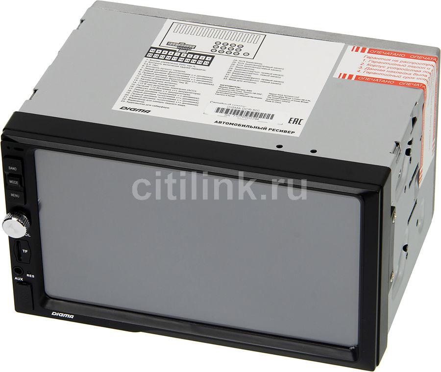Автомагнитола DIGMA DCR-500,  USB,  SD/MMC