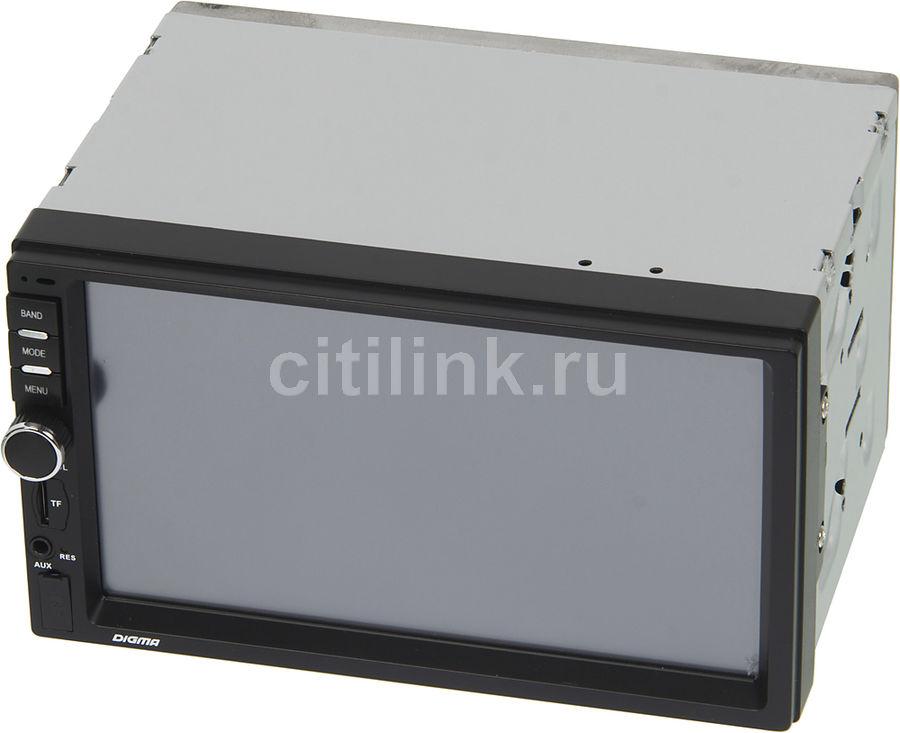 Автомагнитола DIGMA DCR-510,  USB,  SD/MMC