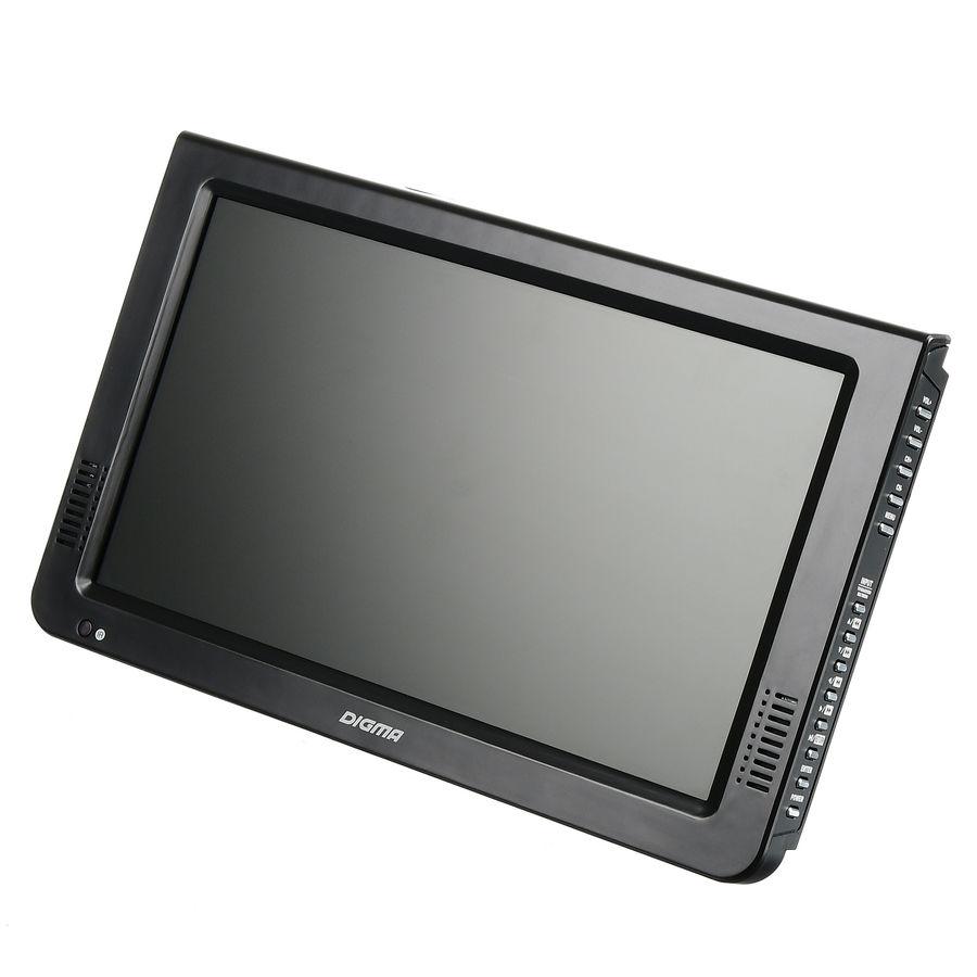 """Автомобильный портативный телевизор DIGMA DCL-1020,  10.1"""",  16:9,  черный"""