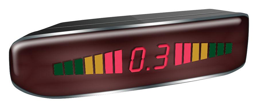 Парковочный радар DIGMA DCK-120,  черный