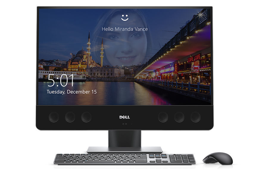 "Моноблок DELL XPS 7760, 27"", Intel Core i7 7700, 16Гб, 512Гб SSD,  AMD Radeon RX 570 - 8192 Мб, Windows 10 Home, серебристый [7760-2223]"