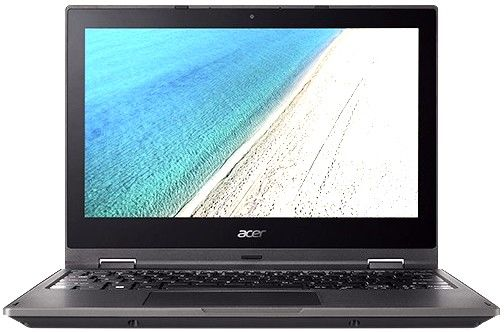 Ноутбук ACER TravelMate TMB118-R-C9JG, 11.6, Intel Celeron N3350 1.1ГГц, 4Гб, 32Гб SSD, Intel HD Graphics 500, Windows 10 Professional, черный [nx.vfzer.001]Ноутбуки<br>экран: 11.6; cенсорный экран; разрешение экрана: 1366х768; процессор: Intel Celeron N3350; частота: 1.1 ГГц (2.4 ГГц, в режиме Turbo); память: 4096 Мб, DDR3L; SSD: 32 Гб; Intel HD Graphics 500; WiFi;  Bluetooth; HDMI; WEB-камера; Windows 10 Professional<br><br>Линейка: TravelMate