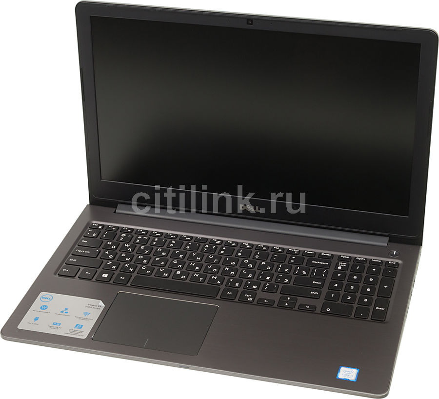 Ноутбук DELL Vostro 5568, 15.6, Intel Core i5 7200U 2.5ГГц, 8Гб, 256Гб SSD, nVidia GeForce 940MX - 4096 Мб, Windows 10 Home, серый [5568-3570] адаптер dell intel ethernet i350 1gb 4p 540 bbhf
